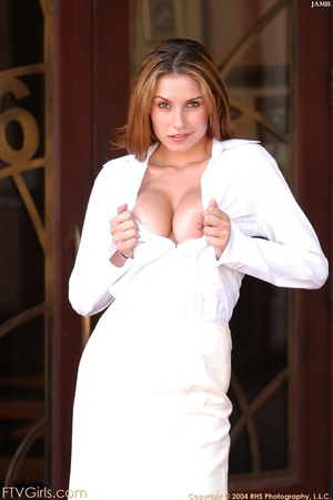 Glamour model Jamie Lynn squirting - XXXonXXX - Pic 16