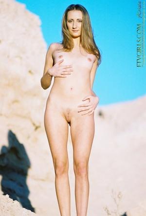 Small tits Krista vagina gaping closeups - XXXonXXX - Pic 3