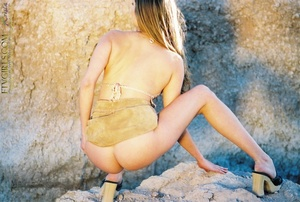 Small tits Krista vagina gaping closeups - XXXonXXX - Pic 15