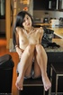 Tamara nipple stretching