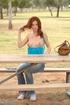 Riley Shy hard breast massage