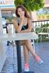 19 yo Ariana hard breast massage