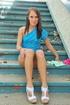20 yo Haley Sweet public nudity
