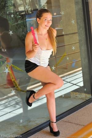 Teen Aurie Lee glamour model - XXXonXXX - Pic 13
