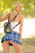 19 yo Kristina Wood upskirt in public