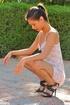 Pornstar Arianna dress and heels