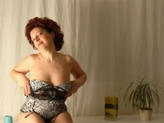 redhead susan striptease