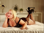 blonde lorelay striptease