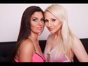 brunette nicole and blonde