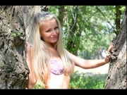 blonde teen whitelioness dancing