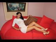 brunette yvette4xxx striptease