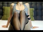 brunette amyc striptease