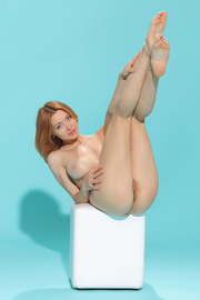 ginger hottie with apple