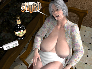 Toon moms and grannies craving for crazy sex - Picture 1