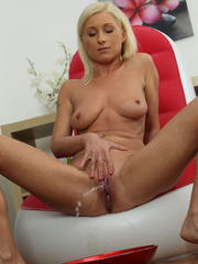Glamorous fawn in black panties plugs her ass and - XXXonXXX - Pic 13