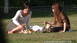 Spy camera catches fun chicks boozing outdoors, stumbling and peeing in streets - XXXonXXX - Pic 1