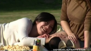 Spy camera catches fun chicks boozing outdoors, stumbling and peeing in streets - XXXonXXX - Pic 5