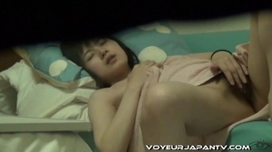 Cute girl in pink towel explores hairy pussy with finger and makes herself cum - XXXonXXX - Pic 5