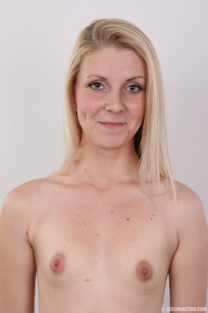 Small-titted blondie stands her chance a - XXX Dessert - Picture 11