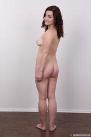 lovely brunette hottie with