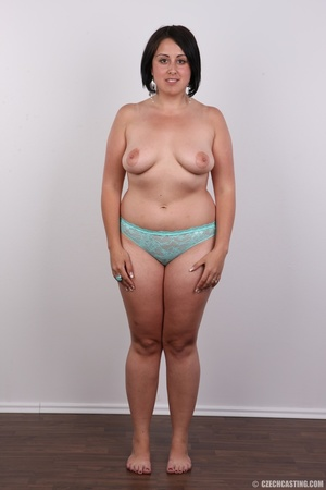 Plump brunette coed with massive natural - XXX Dessert - Picture 8