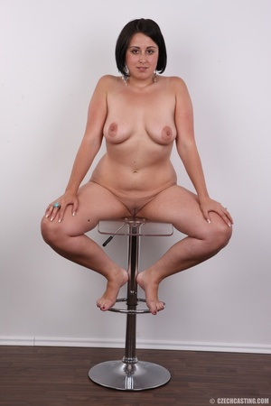 Plump brunette coed with massive natural - XXX Dessert - Picture 19