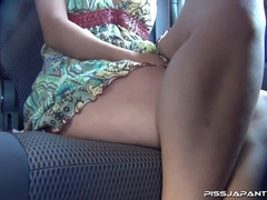 Nasty young Asian chicks take a piss inside moving - XXXonXXX - Pic 8