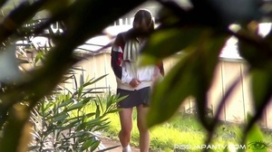 Chicks caught by hidden camera as they expose butt and pussy to pee outdoors - XXXonXXX - Pic 4