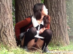 Hot dressed Asian chicks caught outdoors find - XXXonXXX - Pic 9