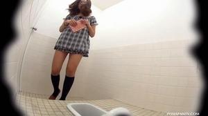 Secret camera in strain station toilet catch Asian babes splashing hot pee - XXXonXXX - Pic 9