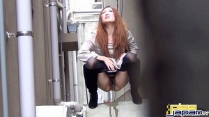 Pretty Asian damsels hide to pee outdoors not knowing of secret spy camera - XXXonXXX - Pic 3