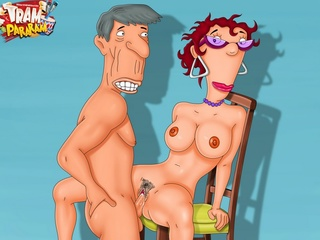 Amazing porn cartoon girls get banged all holes - Picture 1