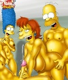 Heroes form Drawn Together porn in interracial sex while Simpsons rocking