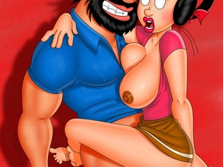Dudes from porn parodies Popeye, Jetsons and Monsters - Picture 1