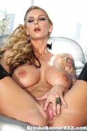 sexy blonde goddess bikini