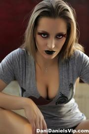 beautiful girl colorful makeup