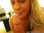 sweet horny light blonde