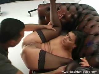 hot babe black top