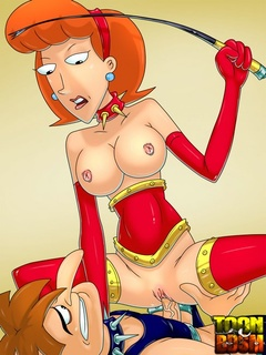 Red-haired toon MILF Linda loves it - BDSM Art Collection - Pic 2