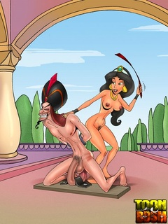 Princess Jasmine and Jafar prefer BDSM - BDSM Art Collection - Pic 3