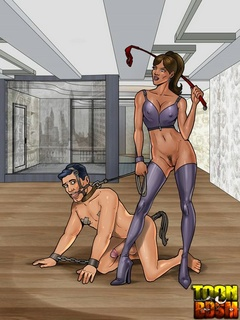 Archer adores being submissive - BDSM Art Collection - Pic 1