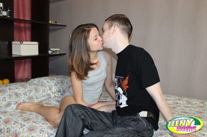 Petite brunette teeny prefers taking a dick from behind - XXXonXXX - Pic 2