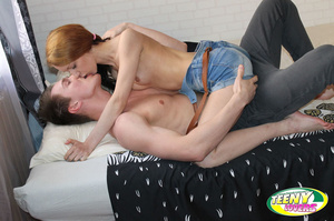 Dirty pigtailed teen girl loves banging with her boyfriend in various poses - XXXonXXX - Pic 5
