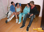 red-hot foursome sees legs
