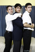 Trio of hot school boys shed some layers to share…