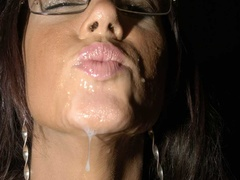 Hot brunette with glasses displays her alluring - XXXonXXX - Pic 15