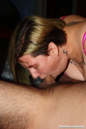 Mature chicks in luscious nighties loves to suck a group of hard cocks til they blow spunk on their faces. - XXXonXXX - Pic 4