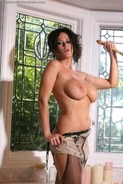 glamorous fawn sheer lingerie
