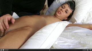 blonde, bondage, pantyhose, table