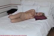 blonde sheer pantyhose hogtied